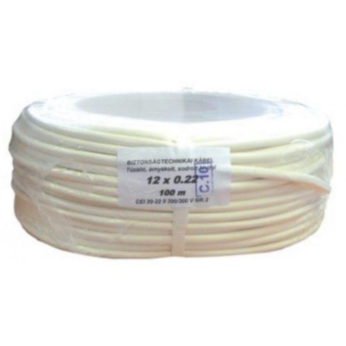 Biztonságtechnikai kábel  (12X0,22)