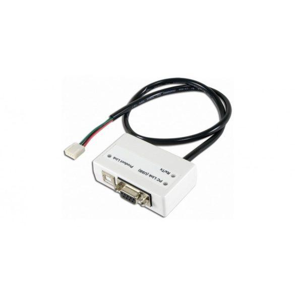USB illesztőmodul, Esprit LCD-hez, MG, SP és Digiplex központok letöltéséhez (307USB)