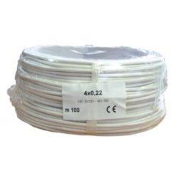 Biztonságtechnikai kábel  (4X0,22)