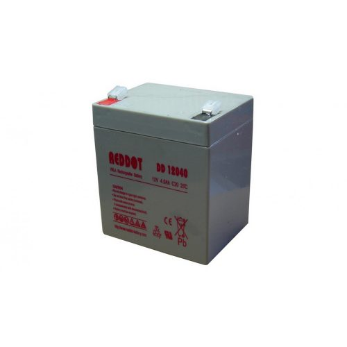 Akkumulátor, REDDOT 12V 4Ah (AK12V-4AhREDDOT)