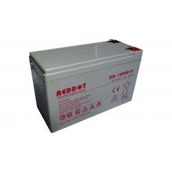 Akkumulátor, REDDOT 12V 9Ah (AK12V-9AhREDDOT)