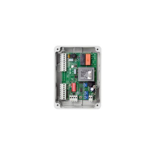 Egymotoros vezérlés tolókapukhoz, beépített 433MHz rádióvevővel (ECO-1)