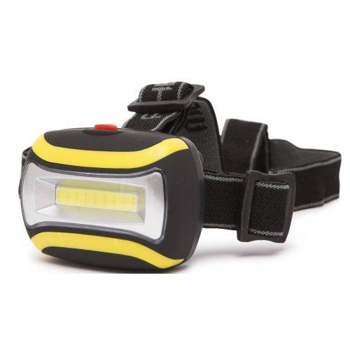 Fejlámpa elemes COB LED