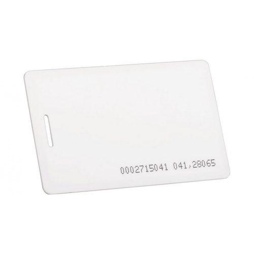 Proximity kártya, 125kHz EM4100 chippel (vékony kivitel) (IDT-1001EM+C)