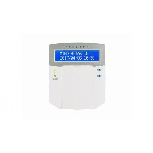 2 partíciós 32-zónás LCD kezelő (K32LCD+)