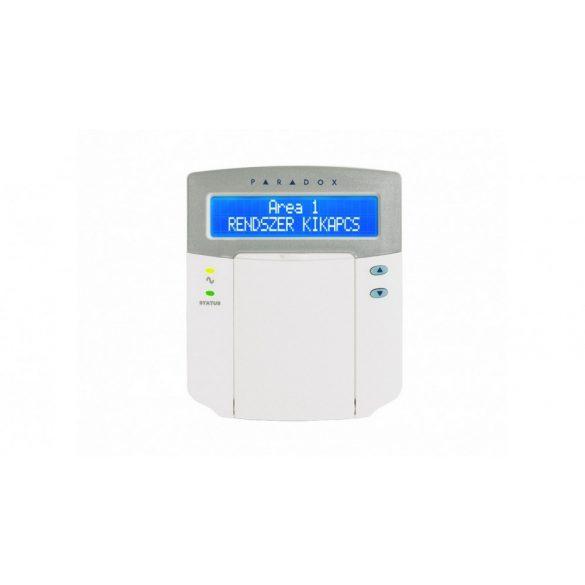 K641+ kék LCD kezelő, MULTIBUS, EVO192, EVO48, EVO96 és DGP848 központokhoz (K641+)