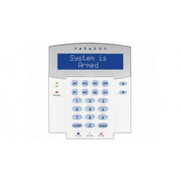 Kék LCD kártyaolvasós kezelő, MULTIBUS, EVO és DIGIPLEX központhoz (K641R)