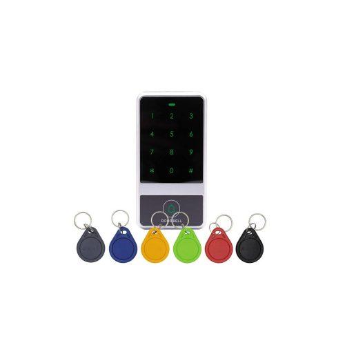 Érintőgombos kültéri RFID olvasó és kódzár (KIT-CON-A6)