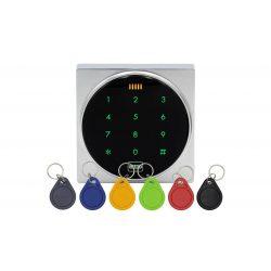 Kültéri fém RFID olvasó és kódzár (KIT-CON-A88)