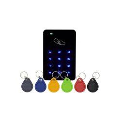 RFID érintőgombos, beltéri RFID olvasó és kódzár, 3db CON-TAG-el (KIT-CON-T6)