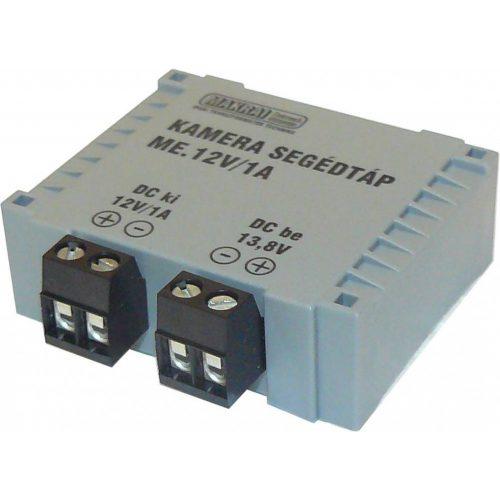CCTV kamera segédtáp 12V  1A (ME-12V-1A)
