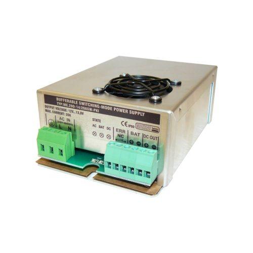 Szünetmentesíthető tápegység 20A 12-13,8V intelligent (ME-280-14-20ASW-PKI)
