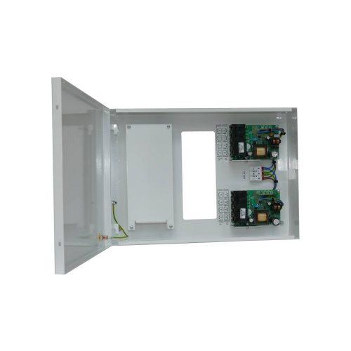 8 csatornás PoE injektor és tápegység switch hellyel (ME-60-48-PoE-8-SWD)