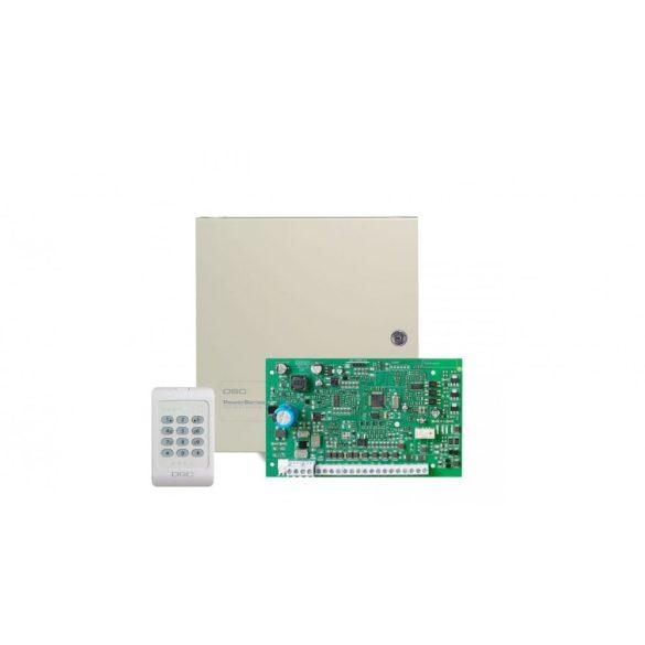 PC1404 Központ PC1404RKZ billentyűzettel, fémdobozzal (PC1404)