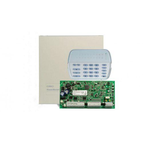 PC1616PCBE központ PK5516 billentyűzet dobozzal (PC1616PK5516-DOB)