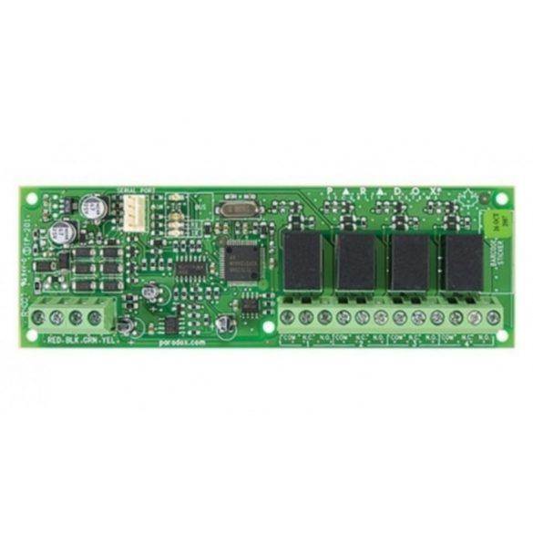 Pgm bővítő modul, 4 relés kimenet, Digiplex, MG, és SP központokhoz (PGM4)