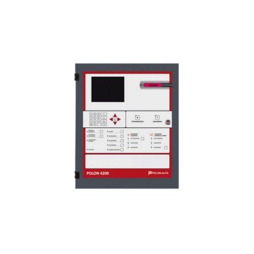 Tűzjelző központ, 4 hurok/vonal (POLON_4200)