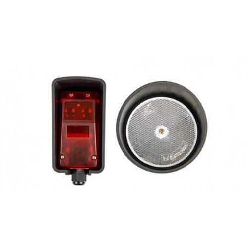 BENINCA - Prizmás infrasorompó, polár szűrő, fordított polaritású bekötés elleni védelem, 10-24Vac / 12-36Vdc (PX BEAM)