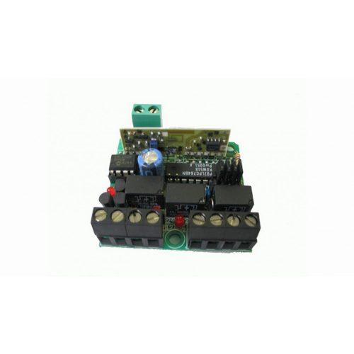 TECHNO - 3 csatornás vevő, fix kódos, (RX433-3)