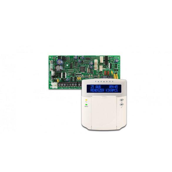 Paradox SP 4000 központ, K32 LCD+ kezelő (SP4000/K32LCD+)