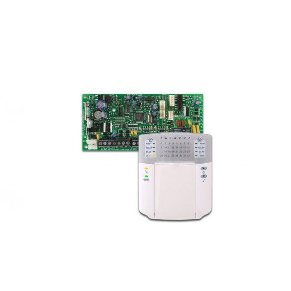 Paradox SP 4000 központ, K32 + kezelő (SP4000/K32LED+)