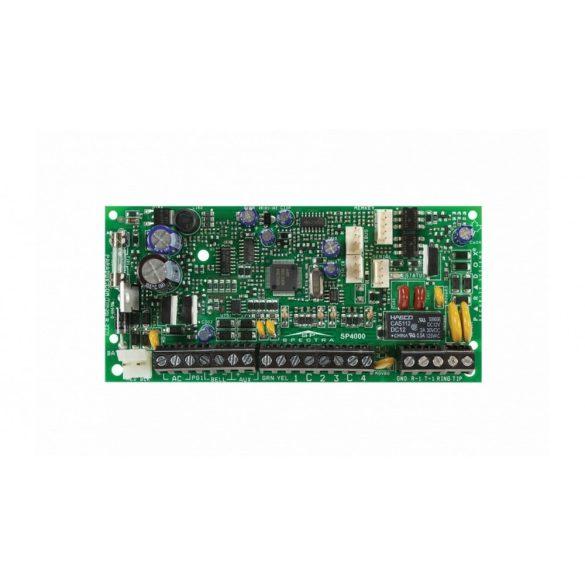 2 partíciós 4-32 zónás 32 felhasználós központ (SP4000 panel)