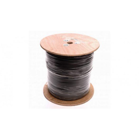 Umirs kerítésvédelmi rendszer speciális rezgésérzékelő triboelektro kábel QUADROSENSE kiértékelőhöz (TB)