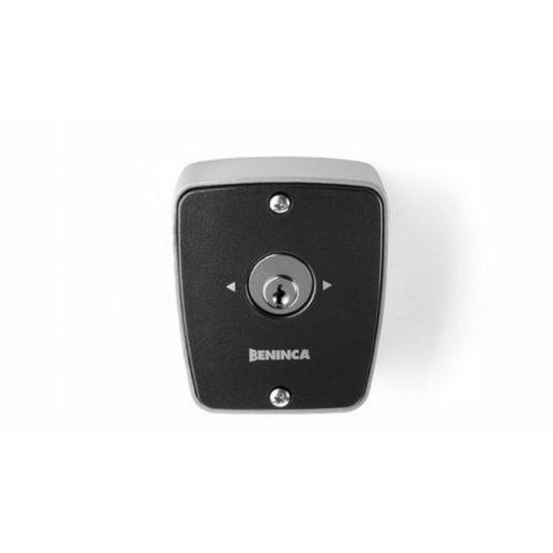 BENINCA - kültéri kulcsos kapcsoló, 2 mikrokapcsolós, fém házban (TOKEY)