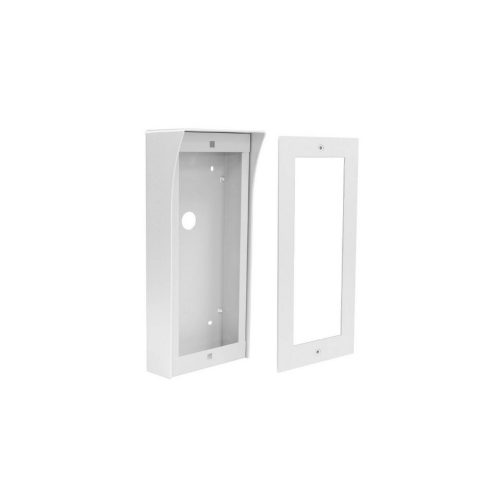 Futura 3 modulos szerelőkeret és felületre szerelő doboz esővédővel (VDT-821-3x1-S)