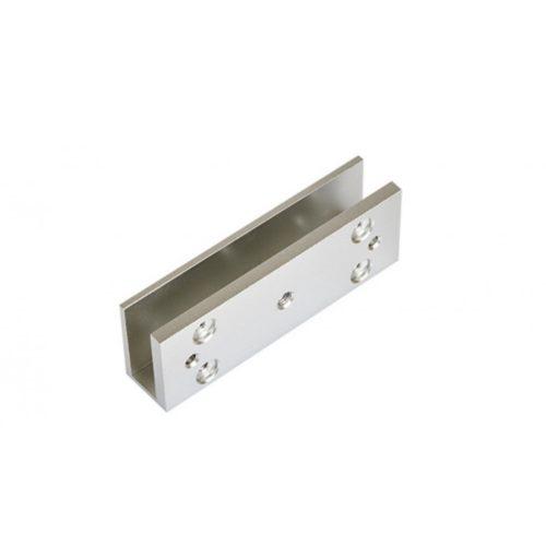 ^U^ alumínium konzol ZOA-180 síkmágneshez, 130x46x28mm, üveg ajtókhoz (ZOA-180U)