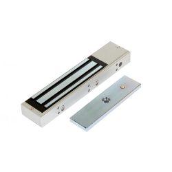 Rátét síkmágnes, 280kg tartóerő, 12/24Vdc, 250x53x27mm, visszajelző LED (ZOA-280)