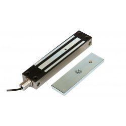 INOX rátét síkmágnes, 280kg tartóerő, 12/24Vdc, 220x48x23mm (ZOA-280INOX)