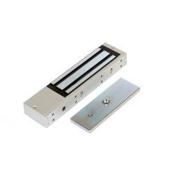 Rátét síkmágnes, 350kg tartóerő, 12/24Vdc, 250x64x32mm, visszajelző LED (ZOA-350)