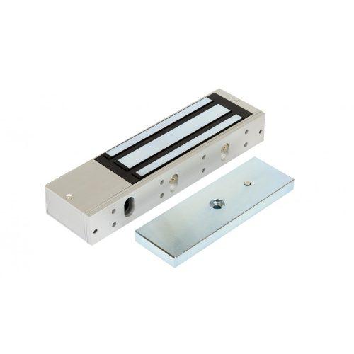 Rátét síkmágnes, 500kg tartóerő, 12/24Vdc, 265x73x39mm, visszajelző LED (ZOA-500)